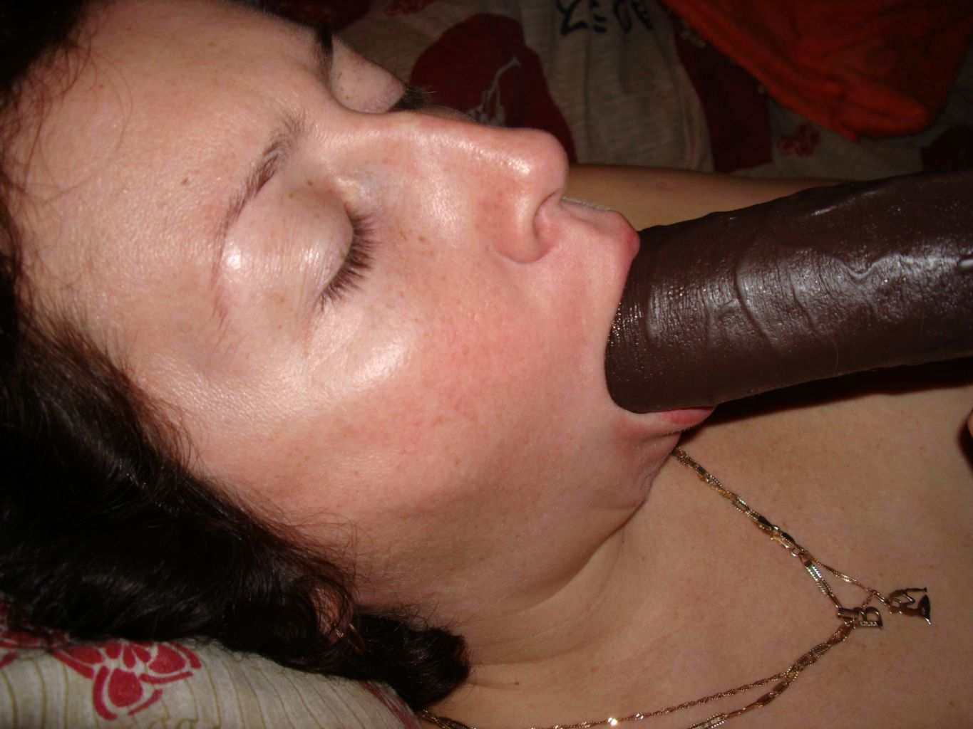 Big black cock creampies