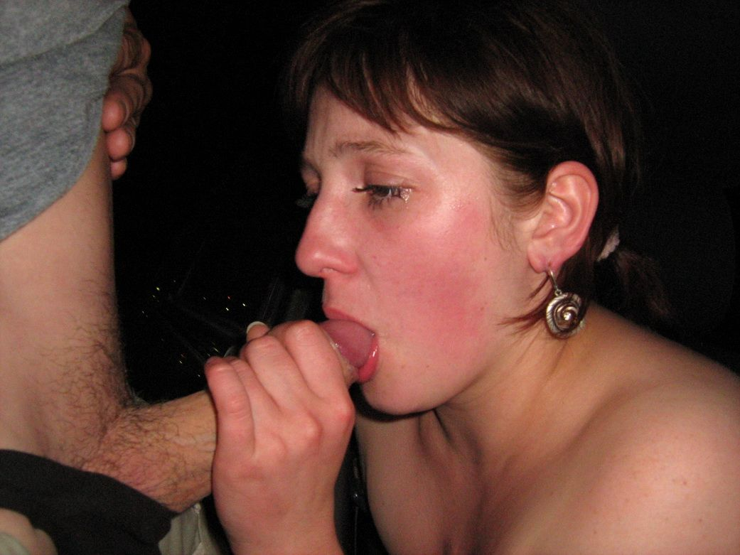 Real time mature blowjob