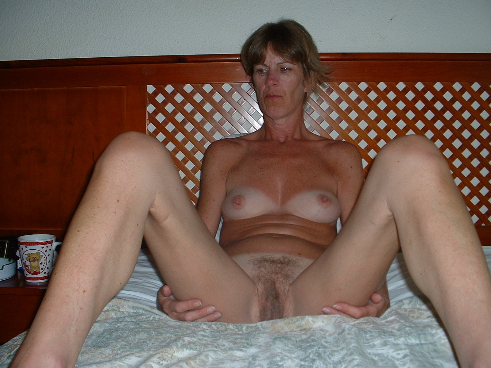 Old woman with big clit
